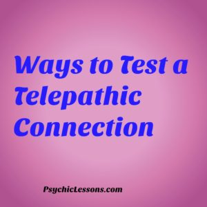 telepathic connection