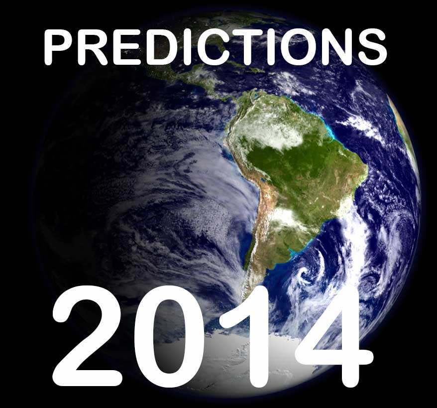 Psychic predictions for 2014