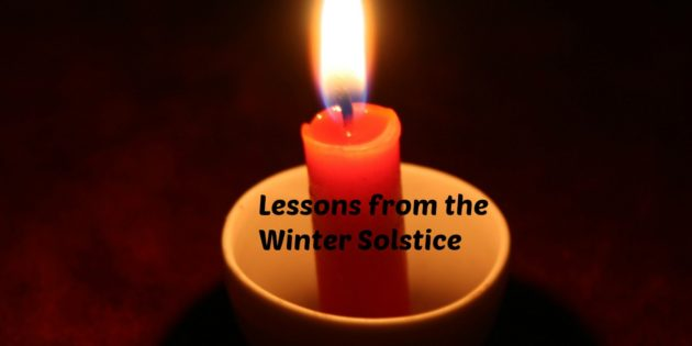 Lessons from the Winter Solstice