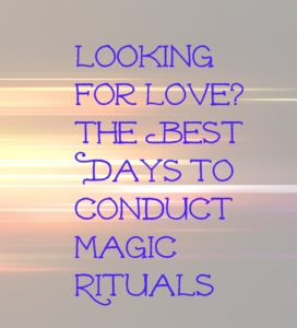 when to conduct rituals